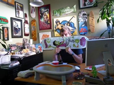 Tum Yeto and Foundation Skateboards owner Tod Swank