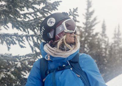Women's Nomad goggles. Photo courtesy of Zeal Optics.