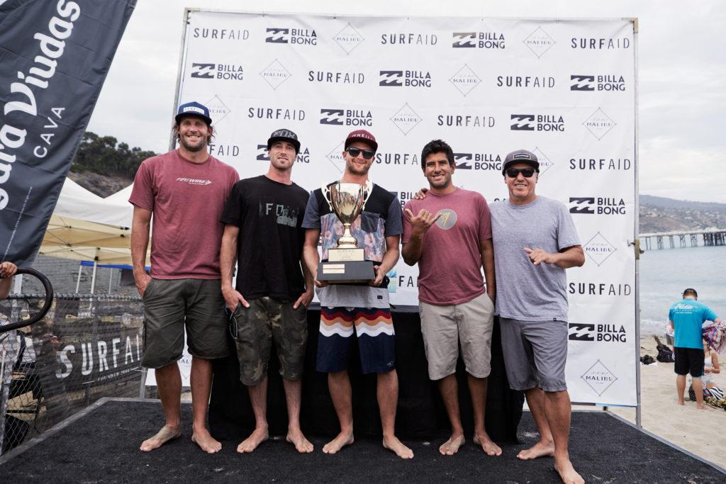 Billabong SurfAid Cup winners