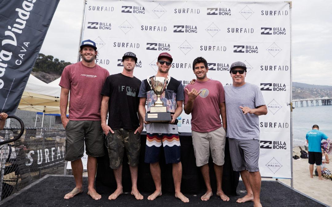 Firewire Team wins Billabong SurfAid Cup in Malibu