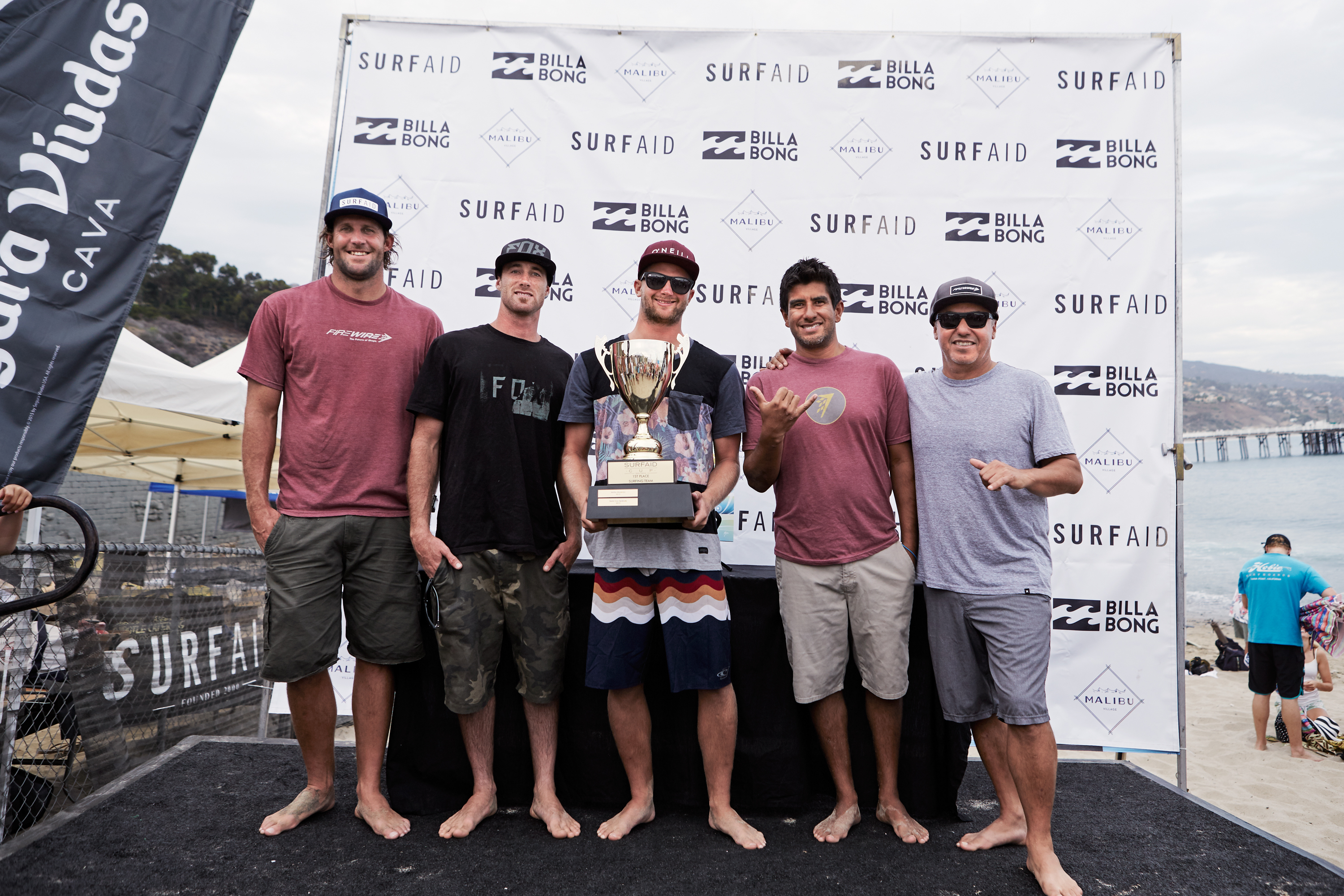 Billabong SurfAid Cup winners