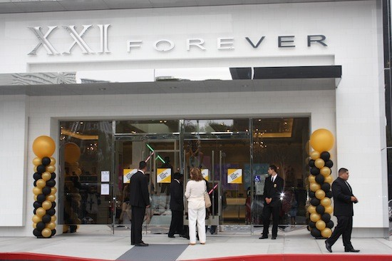 Forever 21 Opens At South Coast Plaza