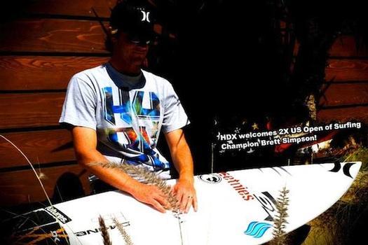 Brett Simpson. Photo courtesy of HDX Hydration Mix.