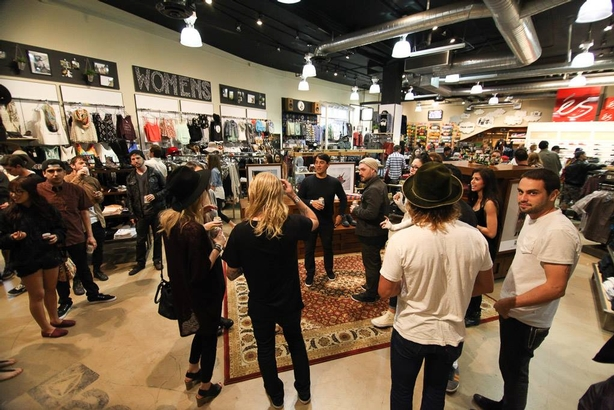 Globe celebrates brand launch at Active Irvine Spectrum store