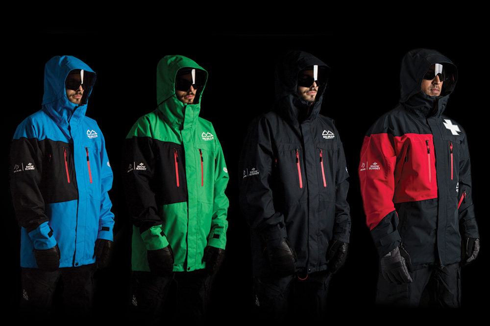 The entire lineup of 686xBBMR Uniforms including the new Patrol uniforms