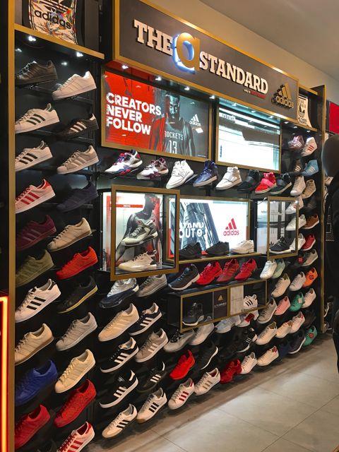 The Adidas presentation at Foot Locker - Photo by SES