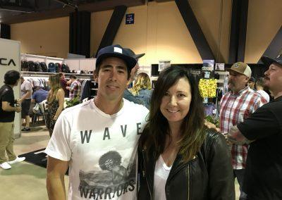RVCA's Brian Cassaro and Allison Perez