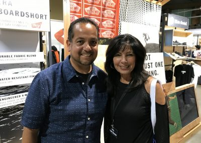 Henry Cosio of Vans and Debbie Anker Morris of Tilly's