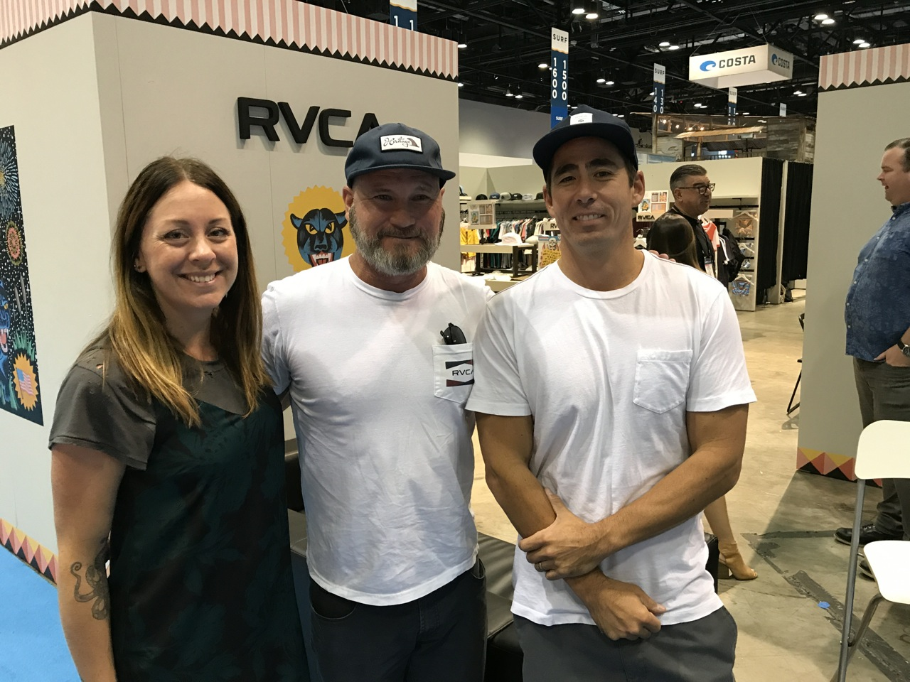 Report From Surf Expo Hurricane Edition Shop Eat Jacie Shirt Rvcas Schroeder