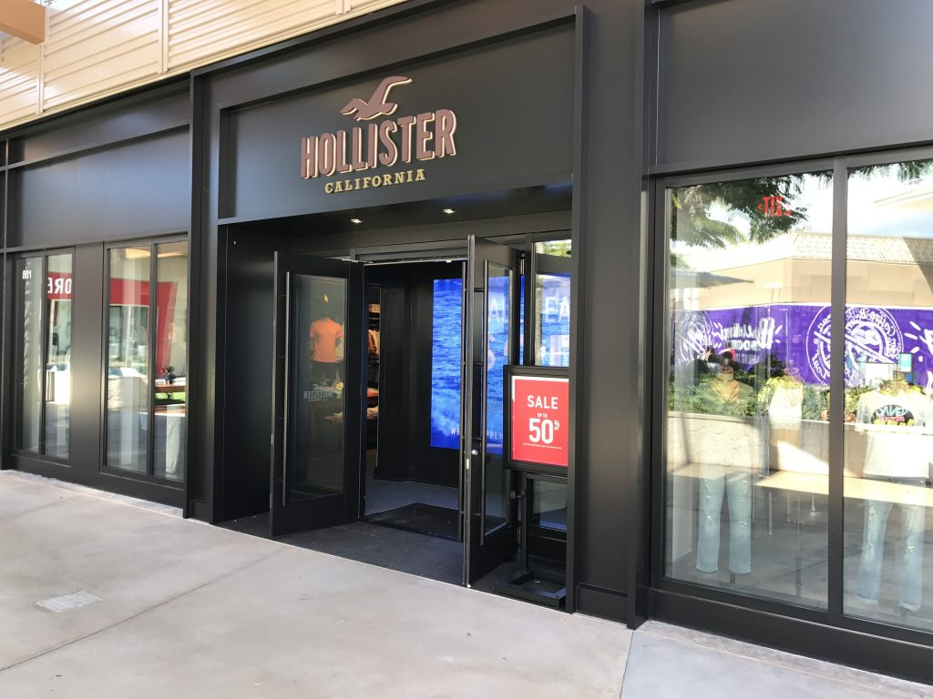 Hollister Parent Fielding Takeover Offers | Shop-Eat-Surf