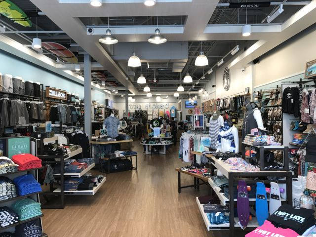 An overview of the new T&C store