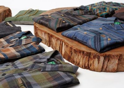 Flannels have become an important category for the brand - Photo courtesy of HippyTree