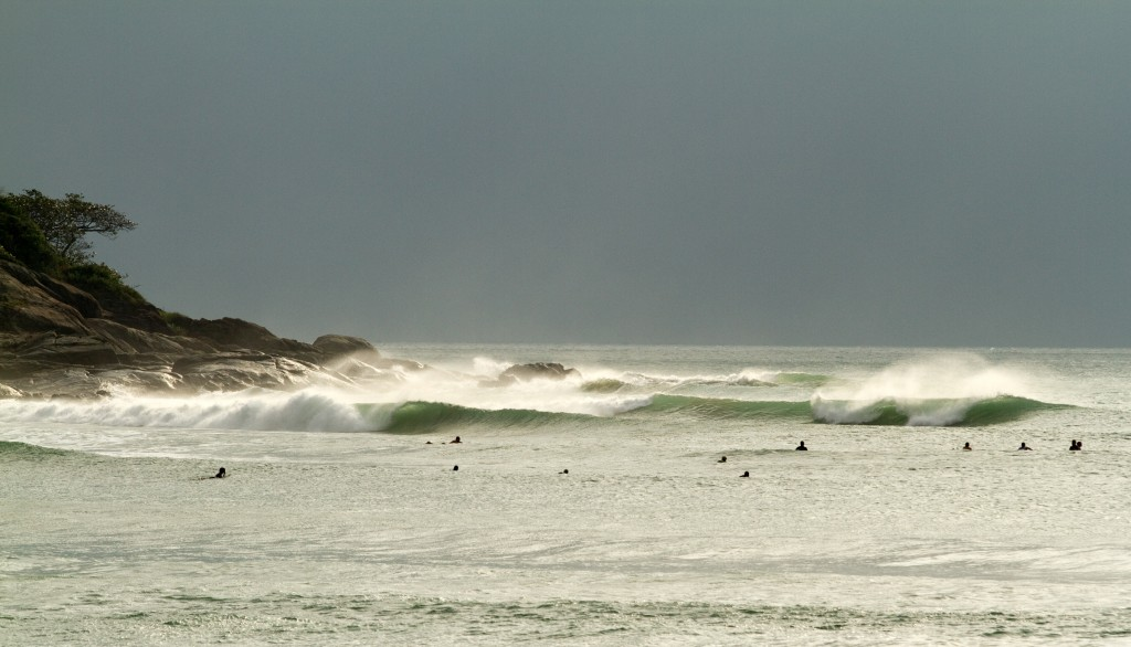Riyue Bayäó»s point break is capable of offering world-class waves. Photo: ISA