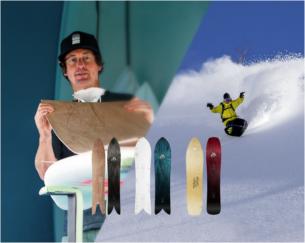 Chris Christenson Uses Surf Tools to Design New Snowboards