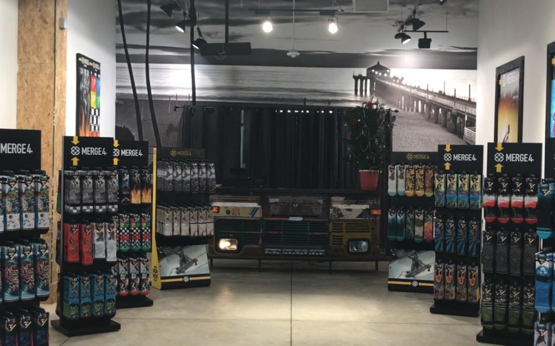 Merge4 Socks Flagship Store Opens in Santa Barbara