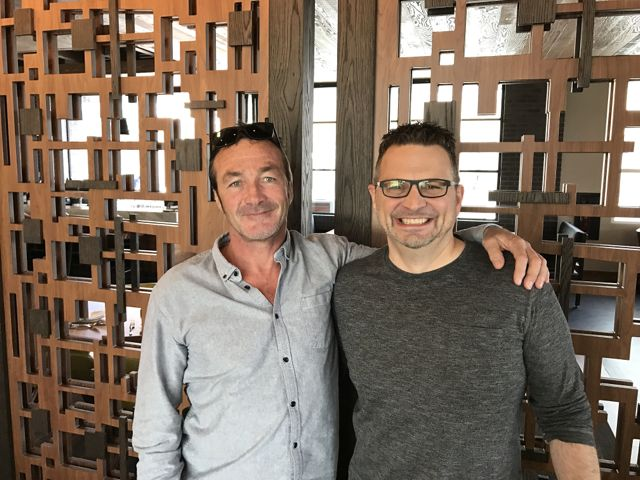 Quiksilver CEO Pierre Agnes and Oaktree Capital's Dave Tanner