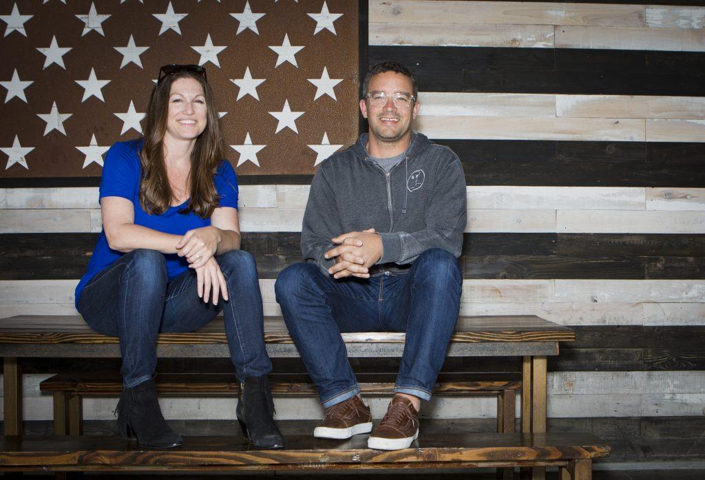 SPY Marketing Director Bonnie Chevalier and VP of Sales Charlie Ninegar. Photo courtesy of SPY.