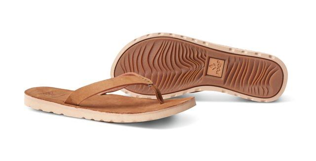 The big story for spring is the new Voyage leather sandal with Swellular Technology