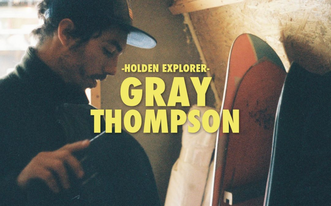 Holden Welcomes Gray Thompson