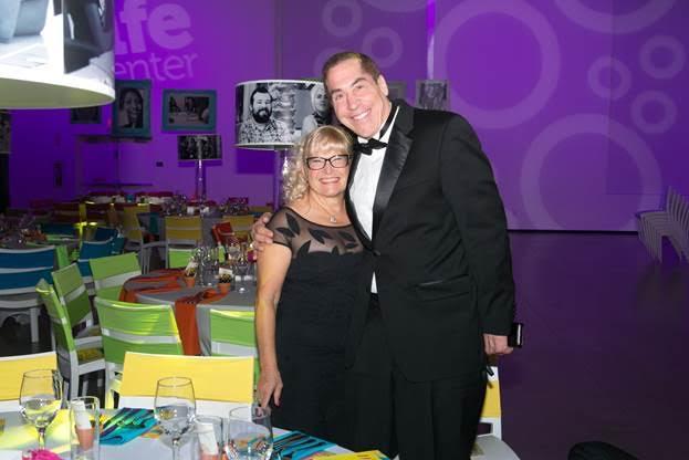 Tilly Levine and Roy Firestone at TLCäó»s 2nd Annual äóìI Am Givingäó Gala