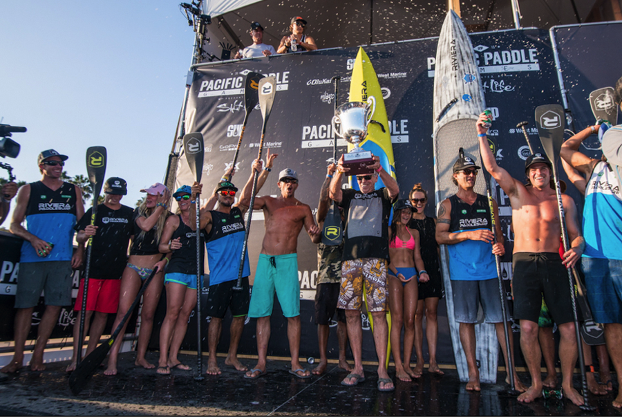 Pacific Paddle Games Announces Manufacturer's Team Challenge Brands