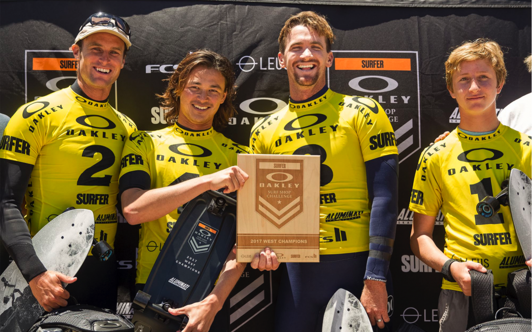 Huntington Surf and Sport Repeats West Oakley Surf Shop Challenge Victory
