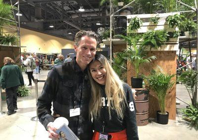 Two of the nicest people in the industry - Jeremy Schluntz of TEN and Vanessa Chiu of Agenda
