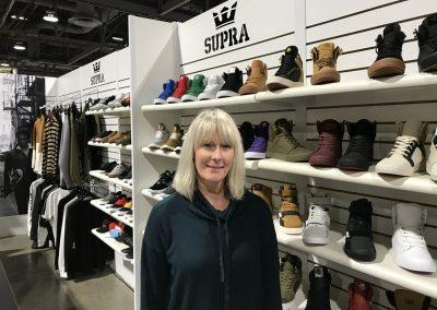 Michelle Smith of Supra