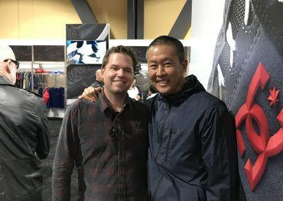 Mike Reilly and Ted Li of Boardriders