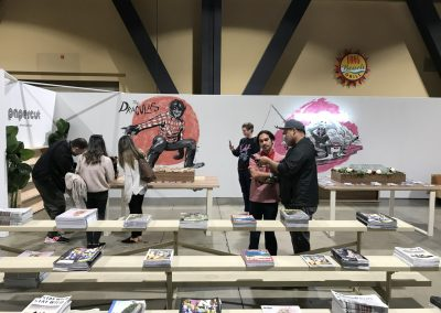 The PaperCut booth