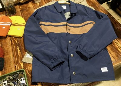 Katin's coaches jacket is an original Katin style from the 1950s