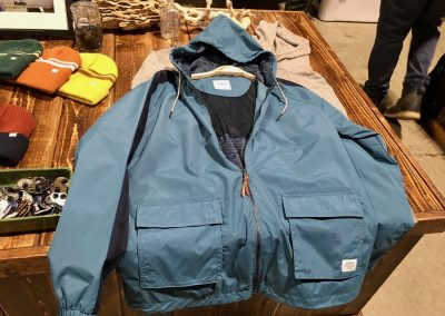 Katin saw 35% year-over-year growth in 2017. Jackets are a strong category for the brand.