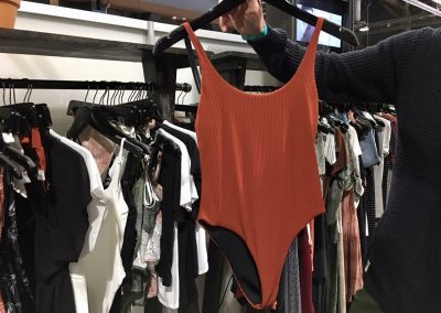 One-pieces that double as bodysuits remain strong for Lira women's swim category