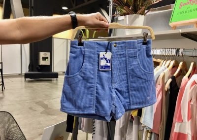OP brought back the original corduroy short with the original hang tag