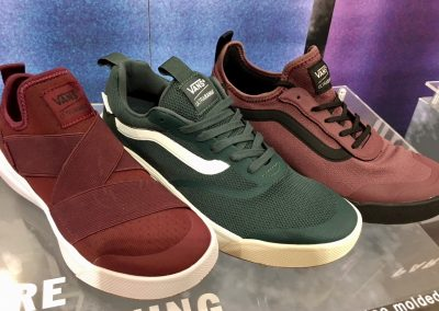 UltraRange has proven very successful for Vans. New technology and color ways were added for Fall '18.