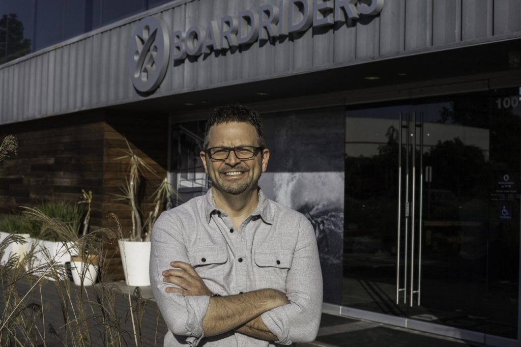 Dave Tanner of Oaktree will become the CEO of the expanded Boardriders when the acquisition of Billabong is complete - Photo courtesy of Boardriders