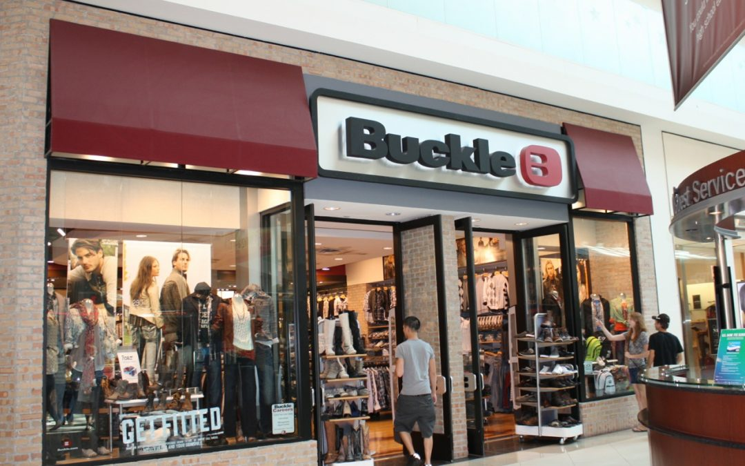 The Buckle Posts Positive Sales in July