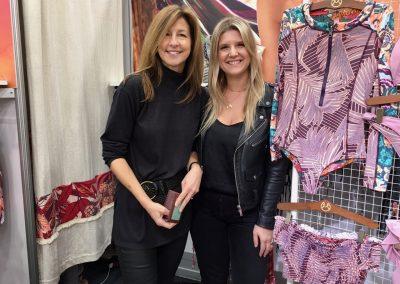 Kelly Ellingson and Mie Manniche of Maaji Swimwear