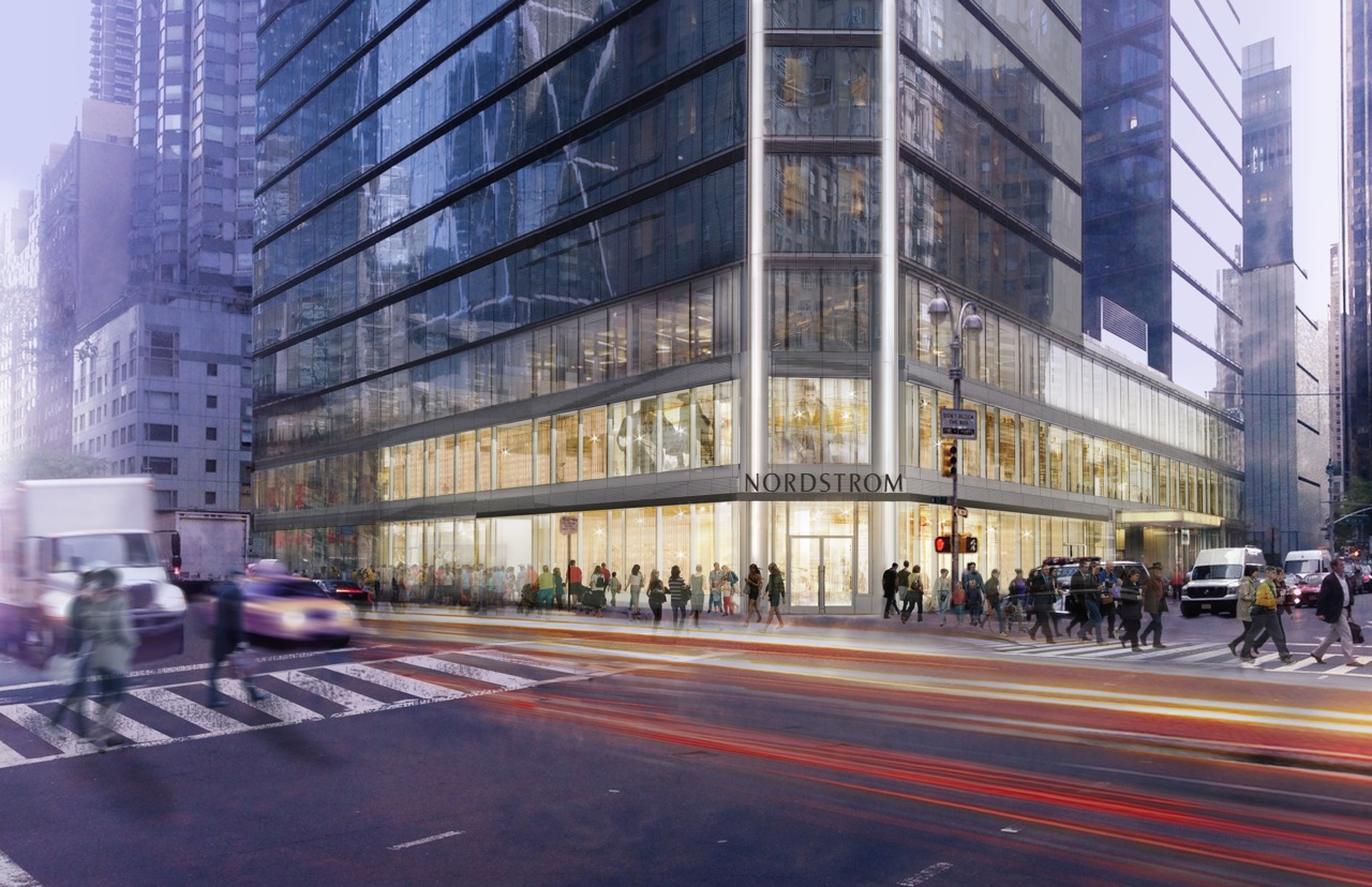 The soon to open Nordstrom Men's Store in New York City - Photo courtesy of Nordstrom