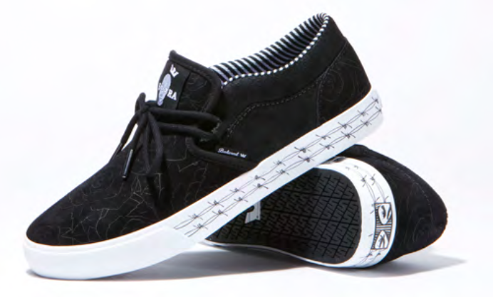 Supra X Badwood Collaborate for a Limited-Edition Sneaker