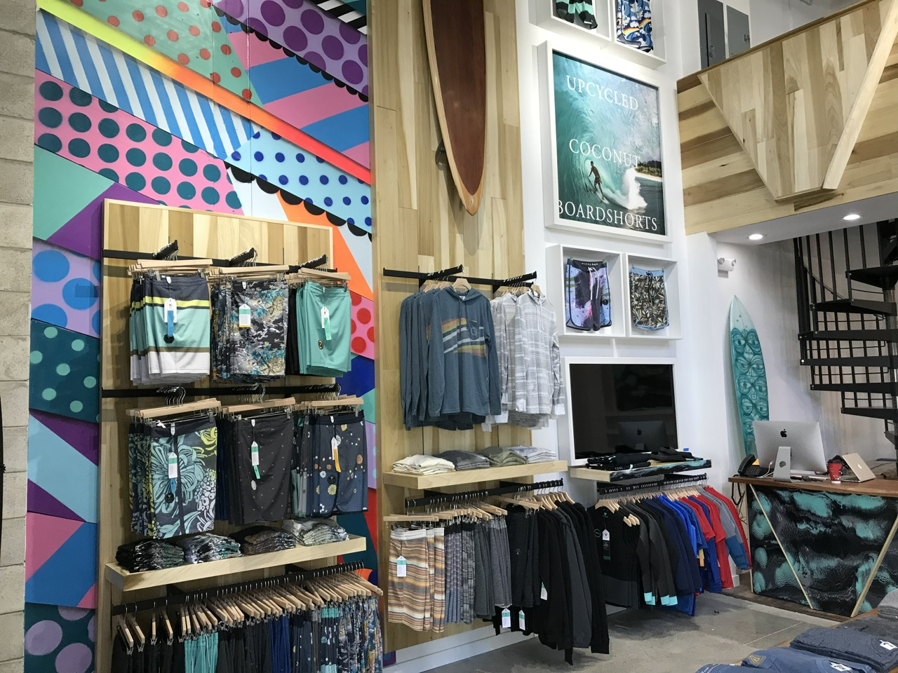 Inside the new Stoke House store in Honolulu - Photo by SES