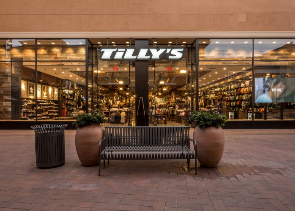 Tilly's to Return to G...