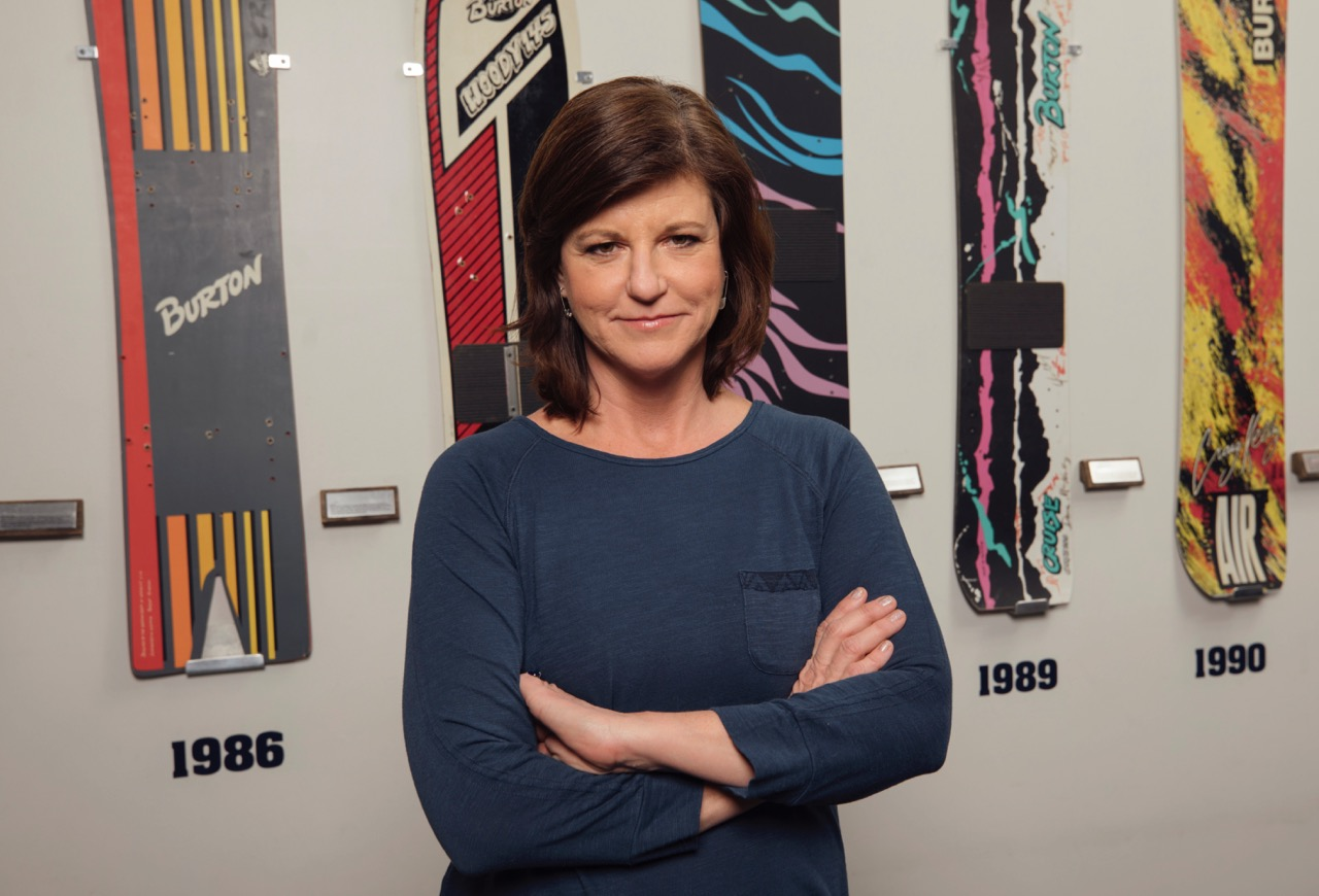 Burton CEO and Co-Owner Donna Carpenter - Photo courtesy of Burton