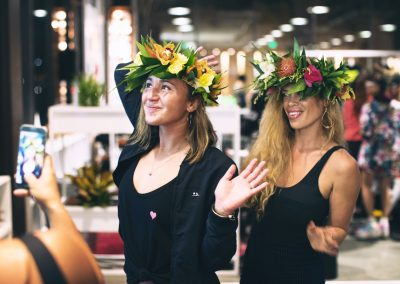Three-time World Champion Carissa Moore attended the women's launch at Hurley Pacific City - Photo courtesy of Hurley