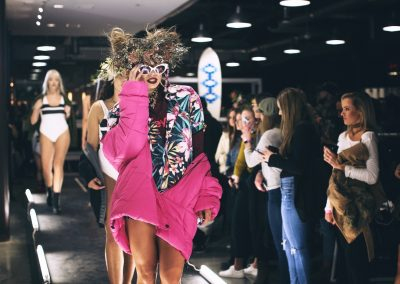Hurley used friends of the brand and influencers with different body types for their fashion show at the launch - Photo courtesy of Hurley