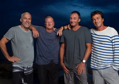 The leadership team that ran Quiksilver for years - Greg Healy