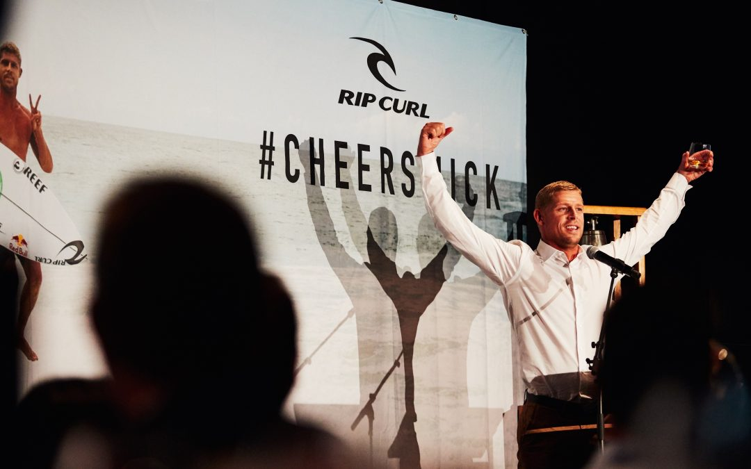 Mick Fanning's Surfing Career Is Celebrated In Style