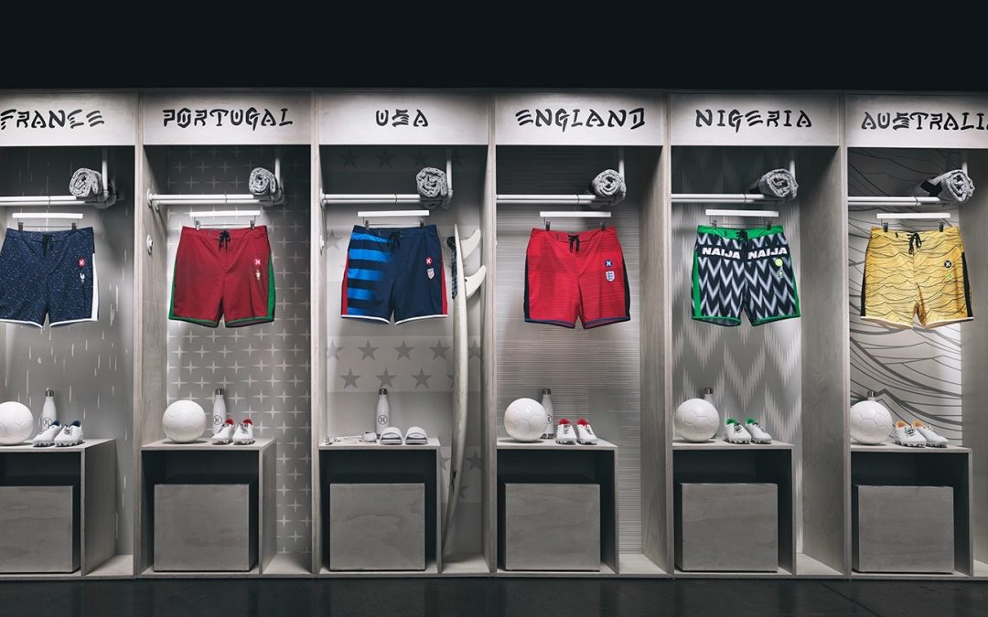 Hurley Launches Another World Cup National Team Collection