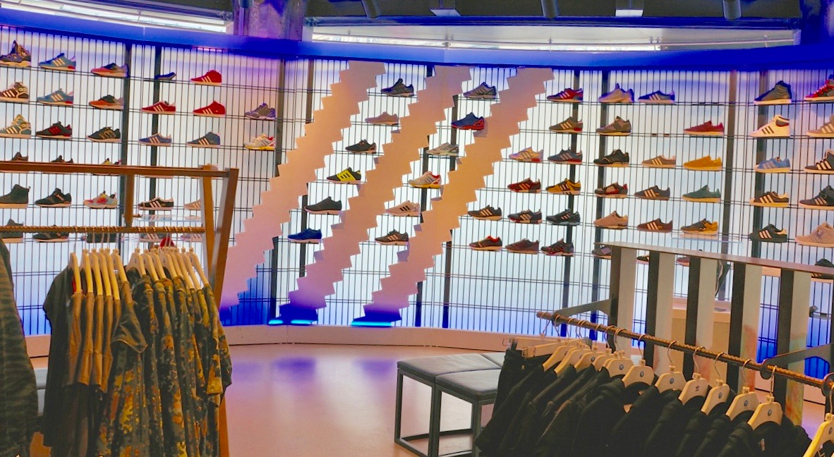 Adidas at Citadium in Paris - SES file photo