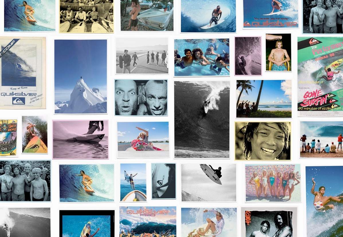 Generations of Quiksilver Creative - Photo courtesy of Quiksilver